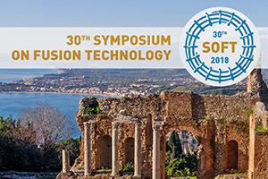 Symposium on Fusion Technology (SOFT 2018)