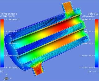 Modeliavimas Ansys Fluent ir Ansys CFD programomis