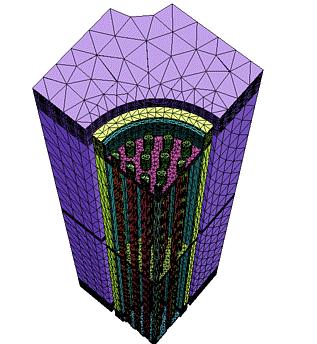 Neutronų, fotonų ir elektronų (spinduliuotės) pernašos modeliavimas MCNP-MCNPX