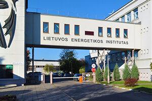 Lietuvos energetikos instituto fasado nuotrauka