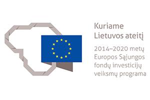 2014–2020 ES fondų investicijų ženklas