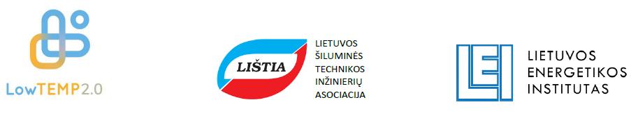 LowTempDH seminaro organizatorių logotipai