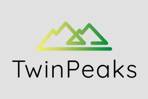TwinPeaks project logo gray background